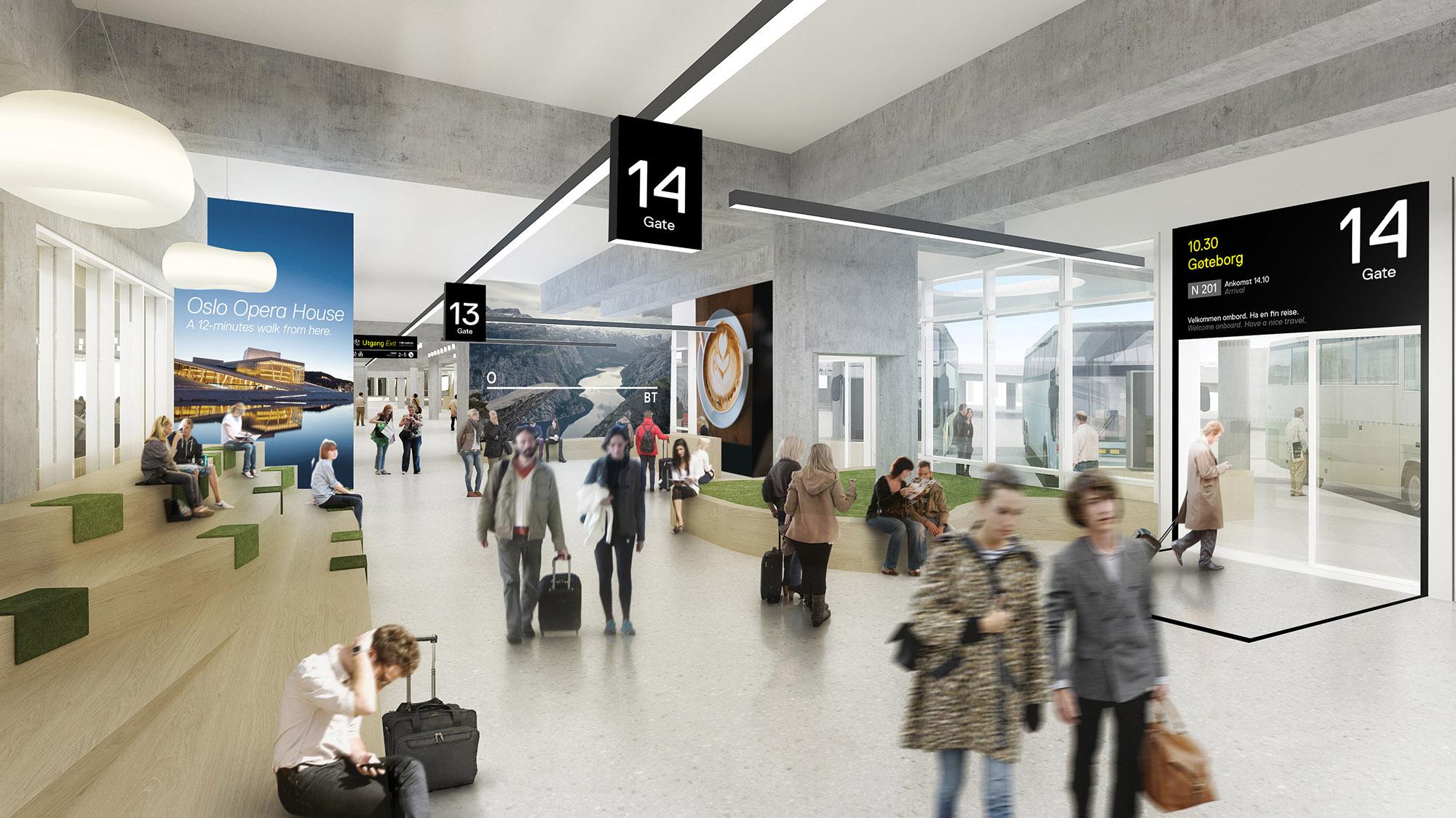 Modernisering av Oslo bussterminal