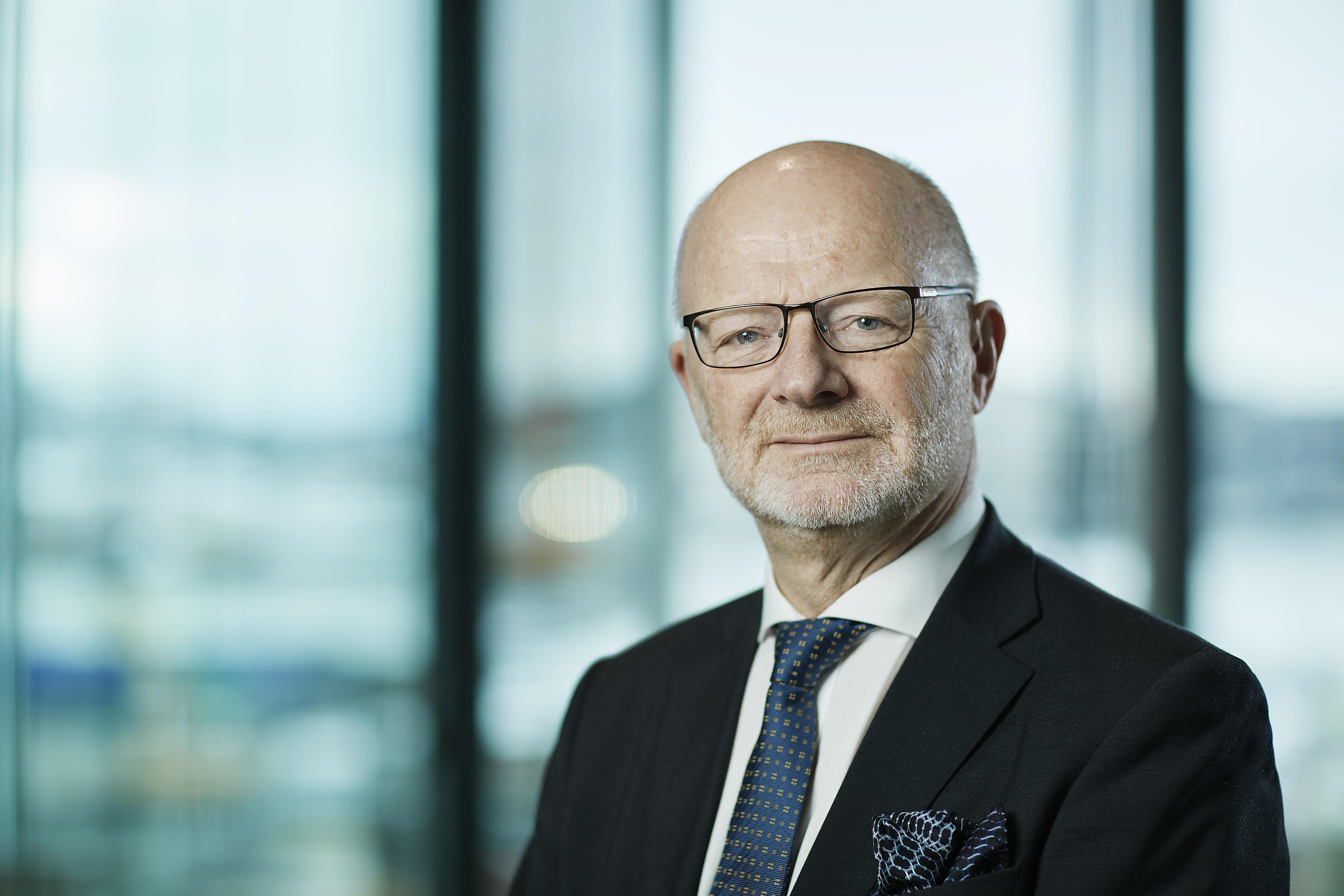 Portrettfotografi av styremedlem Erling Sæther